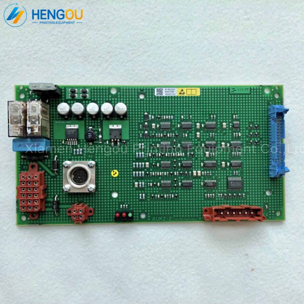 1 Piece 00.785.0523 00.781.7447 GTO Offset Printing Machine Parts Flat Module AUK2 Board Compatible New1 Piece 00.785.0523 00.781.7447 GTO Offset Printing Machine Parts Flat Module AUK2 Board Compatible New