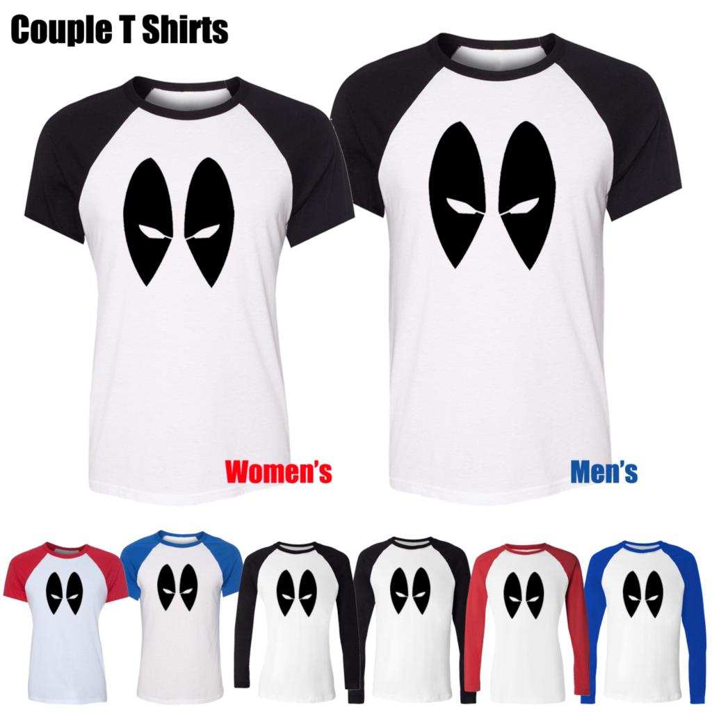 Xmas t shirt design - Simple Style Deadpool Marvel Dc Comics Eyes Design Printed T Shirt Men S Boy S Graphic Tee