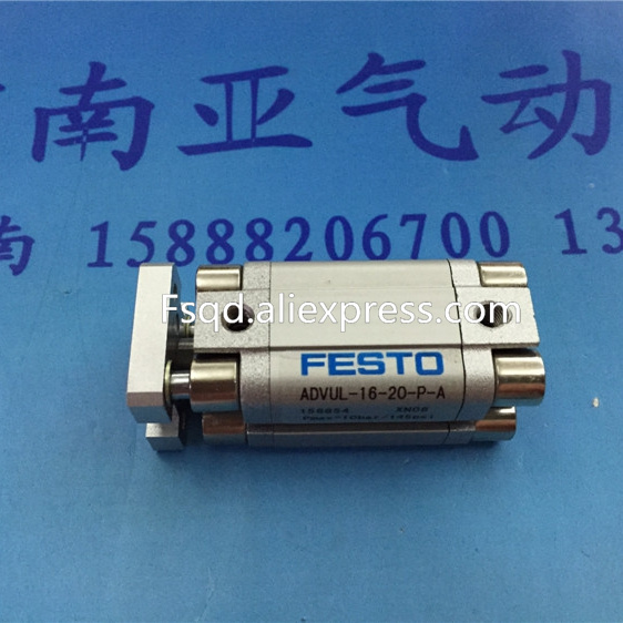 все цены на  ADVUL-16-20-P-A FESTO Thin type cylinder with air cushion air cylinder pneumatic component air tools  онлайн