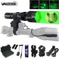 VA-802 linterna LED táctica de caza de la luz del explorador 20mm Armas Picatinny Keymod riel Rifle Mount luz para deportes al aire libre