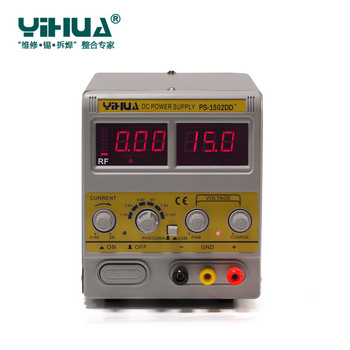 YIHUA 1502DD+ For Mobile Phone15V 2A Adjustable Regulated DC Power Supply With LED Display
