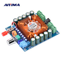Aiyima TDA7850 Amplifier AMP 50W*4 HIFI 4 Channel Car Amplifier Board For Car Home Audio Diy