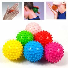 Bargain 3 inch Spiky Ball Massage Trigger Point Sport Hand Exercise Pain Stress Relief Children Education Massager save