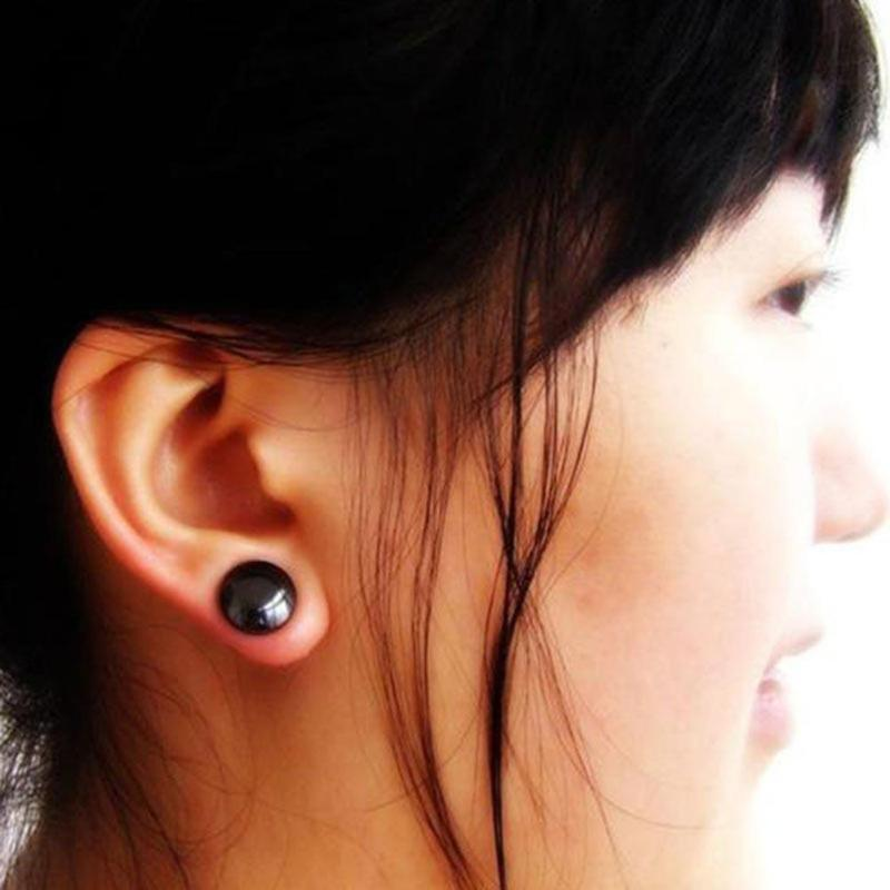 how to wear magnetic earrings for weight loss