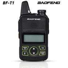뜨거운 판매 미니 울트라 얇은 미니 전면 BF T1 워키 토키 UHF 400 470MHz FM 송수신기 호텔 야외 민간인