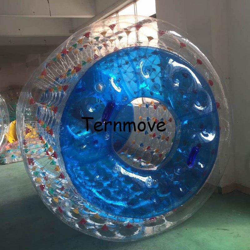 Rueda de bola de rodillo de agua para adultos o niños envío gratis rodillos inflables agua humana Zorb - 4