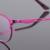 Redonda de Metal óculos de armação frame ótico das mulheres por atacado nova moda 83019 caixa grande espetáculos de vidro liso quadro fabricantes