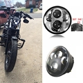 5-3/4 5.75 Inch 40W Daymaker Projector LED Headlight for Harley Davidson Motorcycles