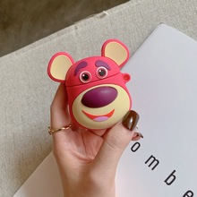 SOFT Silicone toy story lotso hugging bear case for Airpods cute cartoon lovely gift Apple Airpods2 bluetooth earphone