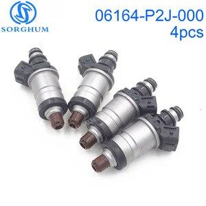 Image 1 - 4PCS 06164 P2J 000 Fuel Injectors 06164P2J000 For 1996 2001 Honda Accord Civic Odyssey Acura RL TL Integra 842 12192 1550333