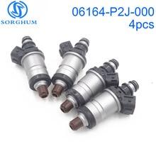 Inyectores de combustible 06164 P2J 000, 06164P2J000, para Honda Accord Civic Odyssey Acura TL RL Integra 2003 2012 1996, 4 Uds.