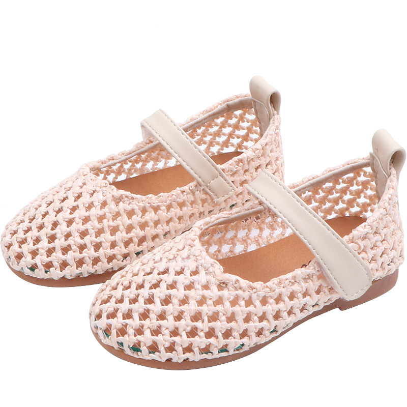 MHYONS 2019 spring new girls hollow shoes soft bottom fashion baby sandals breathable knit milk shoesMHYONS 2019 spring new girls hollow shoes soft bottom fashion baby sandals breathable knit milk shoes
