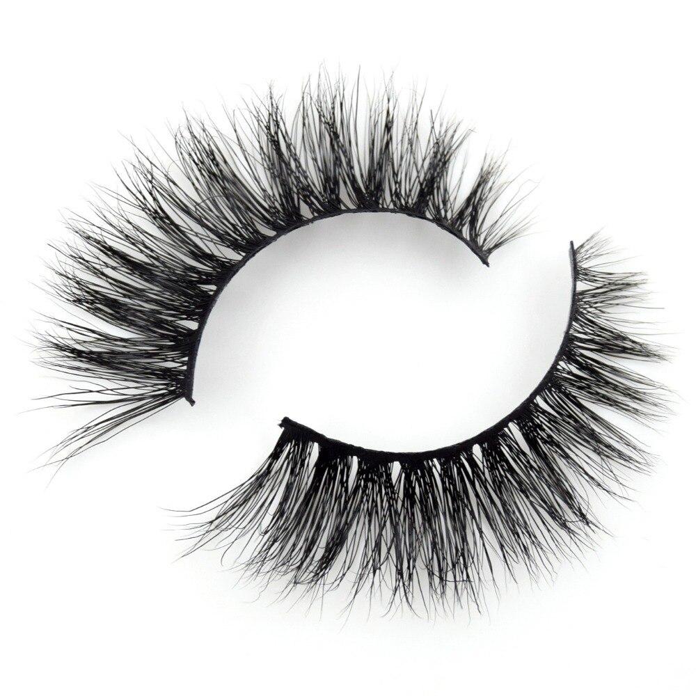 Visofree Eyelashes 3D Mink Lashes Makeup Handmade Full Strip Mink Eyelashes Soft Fluffy Eyelashes Full Volume False Eyelash E08