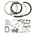 COMPLETE TURBO OIL LINE INLET DRAIN RETURN KIT T3T4 T3 T4 T70 T04S T04Z T4E Oil line repair kits Turbo Oil Feed Line  YC100795