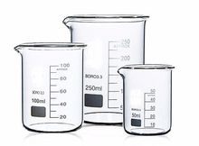 100+150+250+400ml Low Form Beaker Chemistry Laboratory Borosilicate Glass Beaker Thickened with spout FREE SHIP