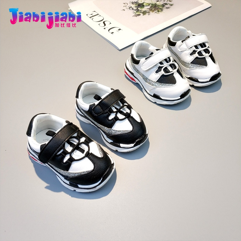0-2T New Autumn Babies Baby Boy Princess Toddler Shoes Baby Girl Anti Slip Moccasins Newborn Soft Bottom Sport Infant Shoes 0705