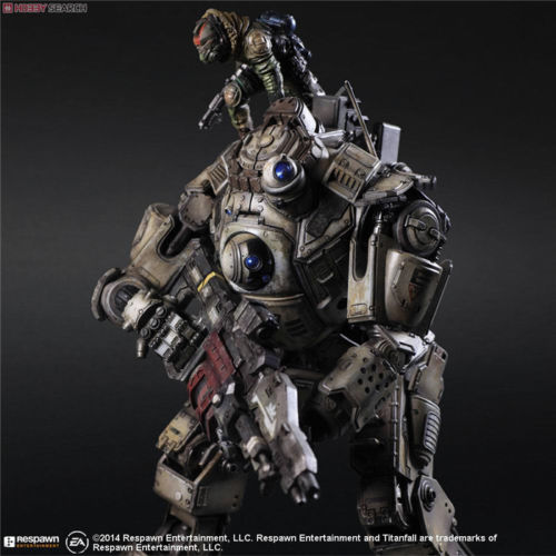 Square Enix PLAY ARTS KAI TITANFALL ATLAS Armor ACTION FIGURE Figurine TOY GIFT Anime Figure Collectible Model Toy alen 2017 new play arts 27cm titanfall atlas boxed pvc action figure collectible model toy