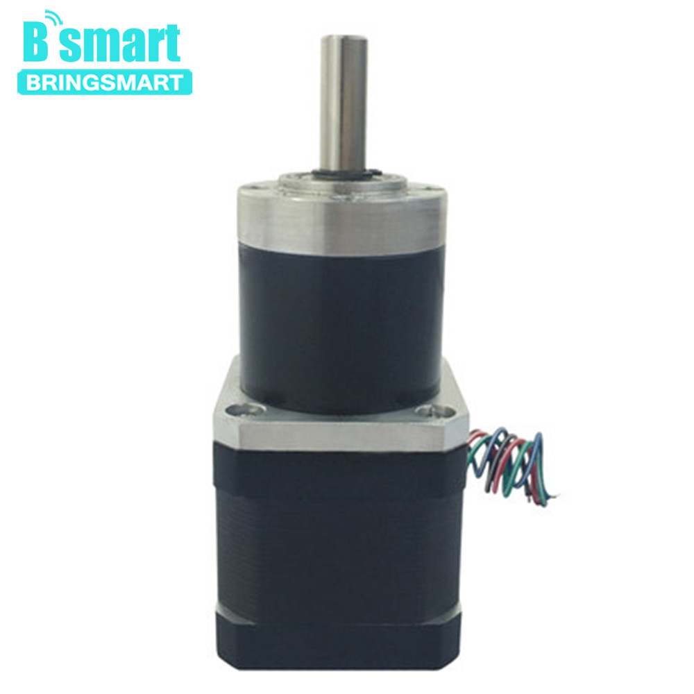 Bringsmart DC Stepping Gear Motors Worm Stepper High Torque Motor Reduction Planetary Motor Gearbox PG36-42BYBringsmart DC Stepping Gear Motors Worm Stepper High Torque Motor Reduction Planetary Motor Gearbox PG36-42BY