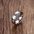 Vnox Rhombus Rings for Men Jewelry 6MM Tungsten Carbide Wedding Bands Ring US Size