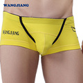 4pcs/lot Mens Boxer Shorts Cotton Sexy Bulge Pouch Jockstrap Cool Viking Skull Print Man Cueca Underwear WANGJIANG Brand Quality