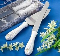 Wedding Gift Lily Cake Knife Shovels Baking Tools The Wedding Scene Props Wedding Souvenirs