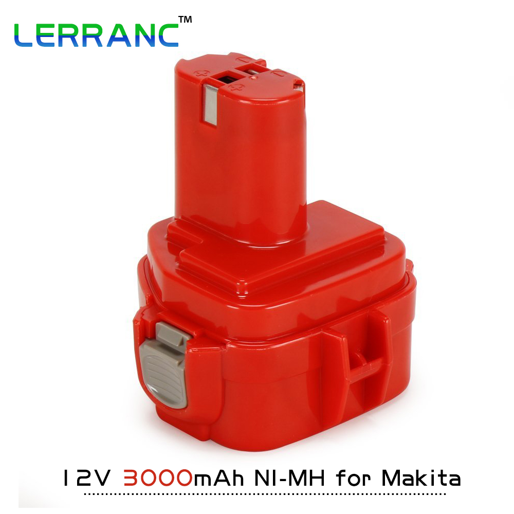 12V 3000mAh Ni-MH Replacement Cordless Tools Battery for Makita 192681-5/192698-2/193157-5/192698-8 1233/1234/1235/192598-2 eleoption high quality 12v 3000mah ni mh battery for makita 1234 1235 1235f 193138 9 192698 a