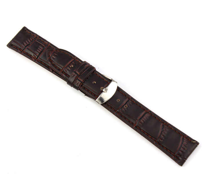 חדש שעון צמיד חגורת watchbands 18 ~ 22mm עור רצועת פלדה באקל שעון יד בנד רך שעונים אביזרי צמיד 2019