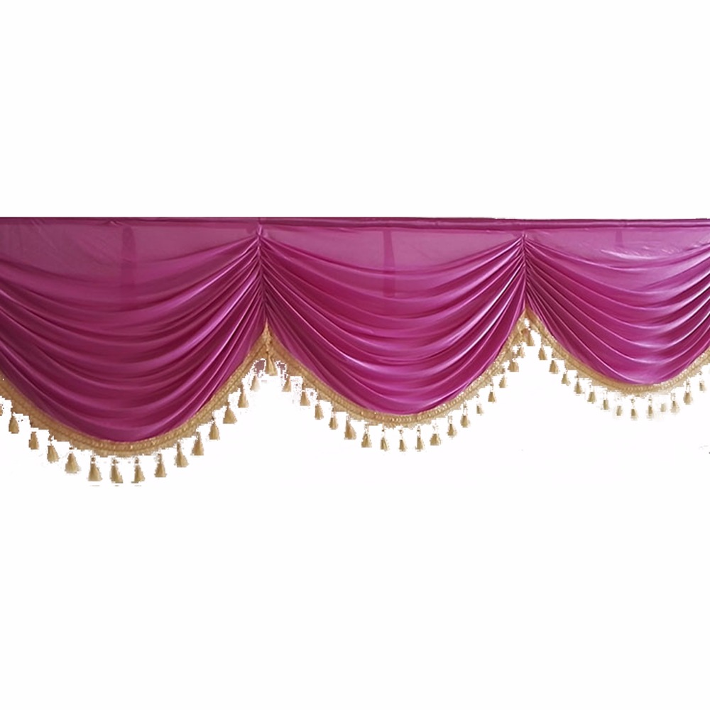 6 Meters DIY Wedding Table Swags for Event Party Backdrop Banquet Table baby shower valentines day Decor Supplies Practical