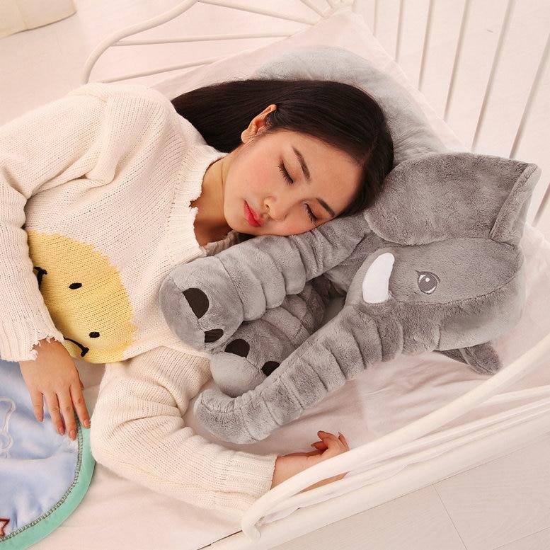 Stuffed e Plush Animais dormindo almofada de volta travesseiro Tipo : Pelúcia/nano Doll