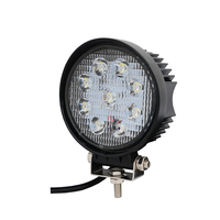 Car LED Spotlight 27W Round Work Lights Car Lights Off Road Conversion Headlights LED Car Lights