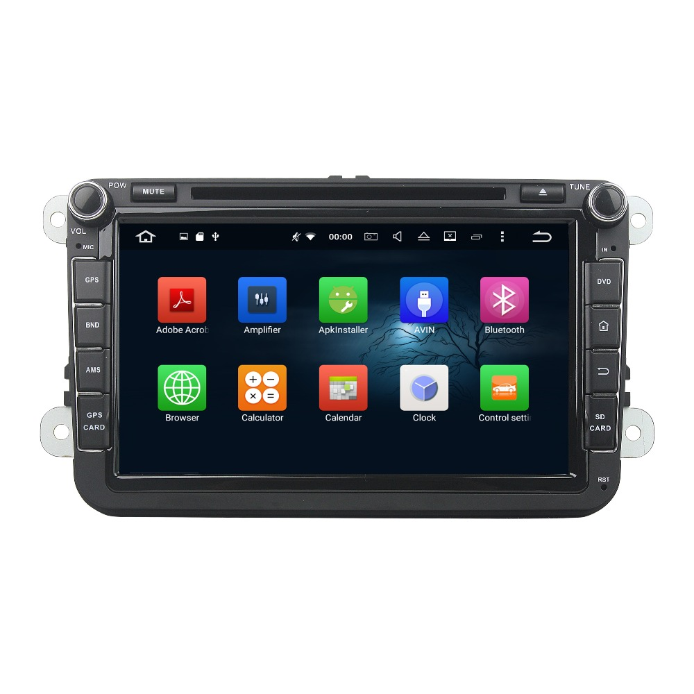 "KLYDE 8"" 2 Din 8 Core Android 8.0 Car Radio For SKODA Octavia II III FABIA SUPERB 2005-2010 Multimedia Player Car Audio Stereo"