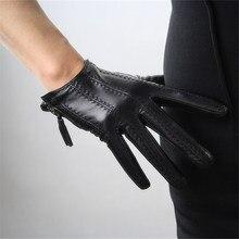 Touchscreen Gloves Genuine Leather Imported Goatskin Tassel