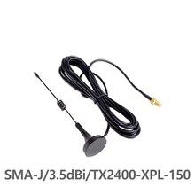 Sucker-Antenna SWR SMA-J Interface Gain TX2400-XPL-150 50-Ohm Less Impedance Than High-Quality