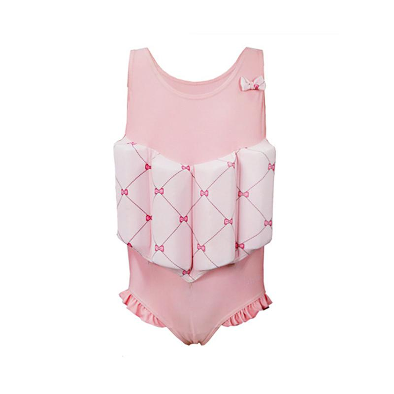 1 Pce Baby Girls Swimwear Durable Beautiful Comfortable Swimming Suit Swim Device Floatation Suit for Beach Hot Spring Swimming