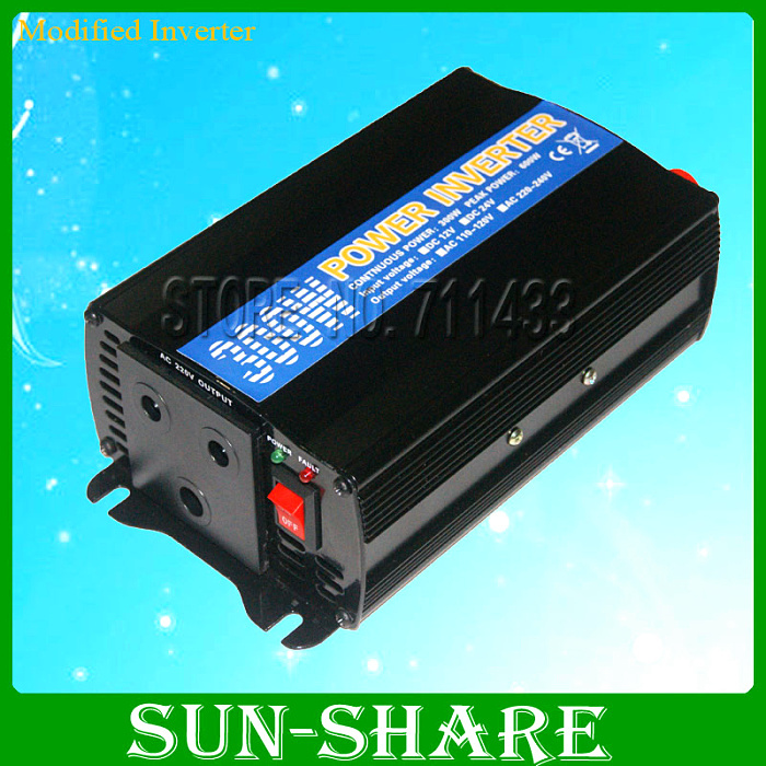 ФОТО freeshipping! 300W/0.3KW off GridInverter for solar panel, modified  sine wave Power Inverter