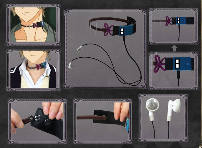 DIABOLIK LOVERS Sakamaki Shu Cosplay Earphone Custom Made Ornament A