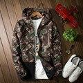 2016 Nova men camouflage jaqueta de manga longa hip hop skate blusão chaqueta hombre mens jaquetas e casacos de roupas casal