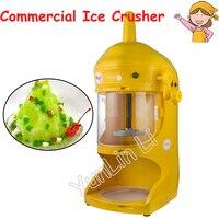 Commercial Ice Crusher Smoothie Machine Panda Shape Ice Flake Machine 220V Continuous Ice Machine