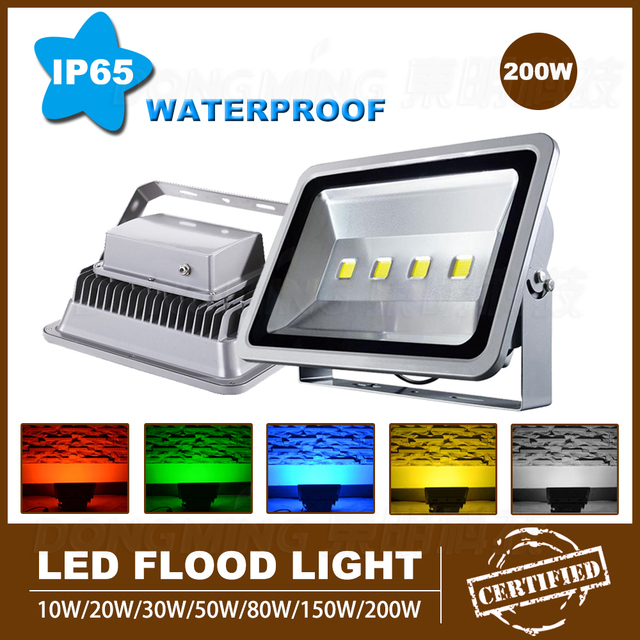 Outdoor lighting led flood light 200w 12000 lm wall lamps outdoor lighting led flood light 200w 12000 lm wall lamps reflector led floodlight ac110v 220v 240v aloadofball Choice Image