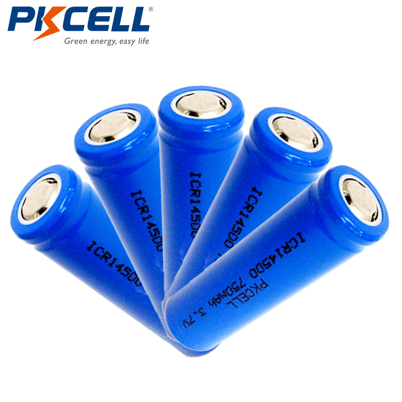 Rechargeable Batteries In Flat From Led pkcell De Batterie Poche 28Off 14500 7v Top Us7 33 Lampe Li Icr14500 3 750mah Ion 3RLAj54q