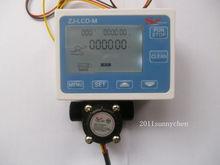 Yf-s201 G1 / 2 расход воды датчик метр + цифровой жк-дисплей количественный управления 1-30L / min