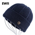 2017 Boy beanies winter hat men knitted cap skullies winter hats for men beanie wool bonnet warm caps bone gorro masculino