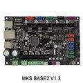 3 Dpriter Smoothieware плате контроллера МКС SBASE 32bit V1.3 с открытым исходным кодом Smoothieboard Руку поддержки Ethernet предустановленные радиаторы