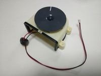 1 pc Original main engine ventilator motor vacuum cleaner fan motor for ilife v3s v3L v5 robot Vacuum Cleaner Parts replacement