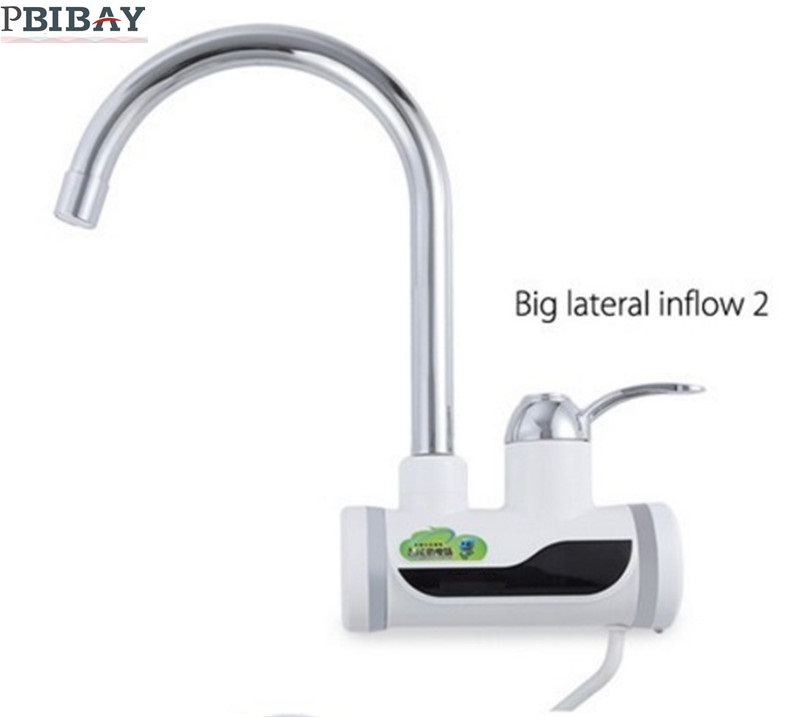 BD3000W 8 free shipping Digital Display Instant Hot Water Tap Tankless Electric Faucet Kitchen Faucet Water