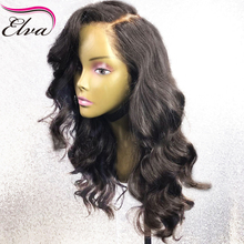 Elva Hair 13x6 Lace Front Human Hair Wigs 150 Density Pre Plucked Hairline With Baby Hair