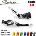 TOP NEW CNC Motorcycle Brakes Clutch Levers For SUZUKI SV650 SV 650 /ABS 2010 2011 2012 2013 2014 2015 Free shipping