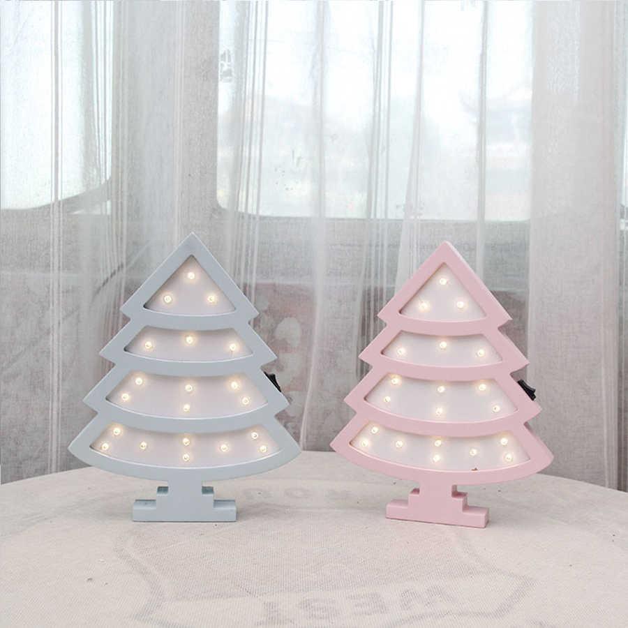 Милая девушка стиль сова медведь Единорог ночник деревянный настенный прикроватный столик лампа Детская Спальня украшение дома освещение