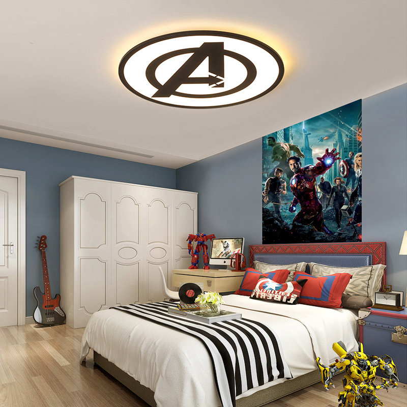 Modern Bedroom Ceiling Decorations Emo Bedroom Decor Bedroom Ideas For Young Adults Men Zombie Bedroom Ideas: Modern Kids Ceiling Light Decoration Bedroom LED Ceiling