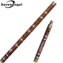 Flauta de bambú china tradicional hecha a mano instrumentos musicales profesionales dizi CDEFG llave Transversal Flauta con accesorios